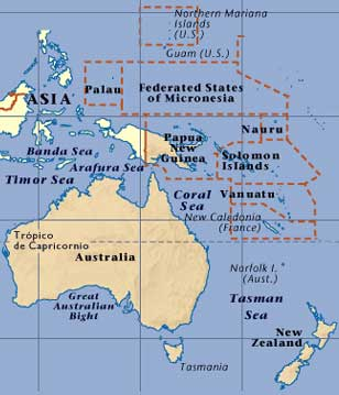 pacific australia fiji malaysia new zealand philippines south pacific ...